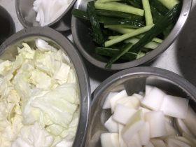 自制泡菜、黄瓜、萝卜