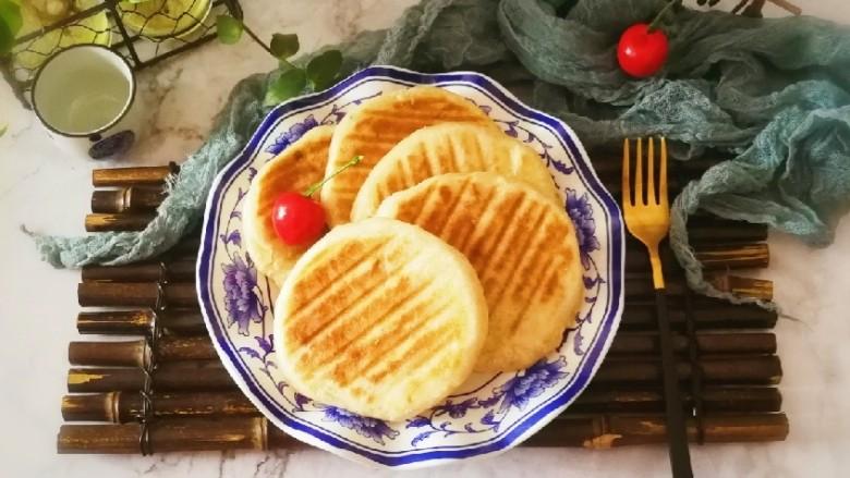 葱香油酥饼
