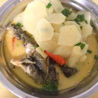黄骨鱼土豆汤