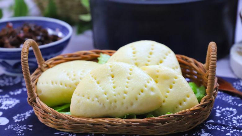 玉米粉荷叶饼