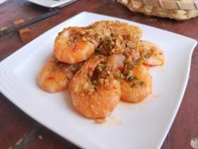 蒜蓉椒盐虾