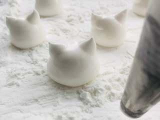柠檬戚风蛋糕 ,制作棉花糖,挤出造型