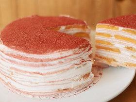火龙很芒千层蛋糕