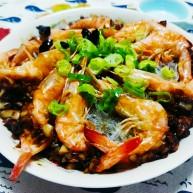 粉丝蒜泥虾