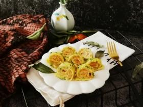 虾肉蔬菜蛋卷