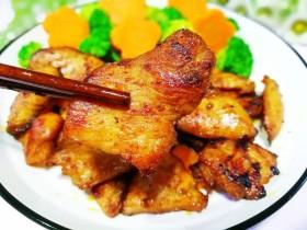 蜜汁香煎鸡胸肉