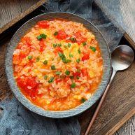 番茄浓汤烩饭