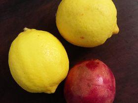 百香果柠檬蜂蜜果茶