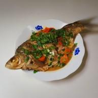 胡萝卜烧鳊鱼