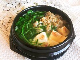 砂锅豆腐汆羊肉