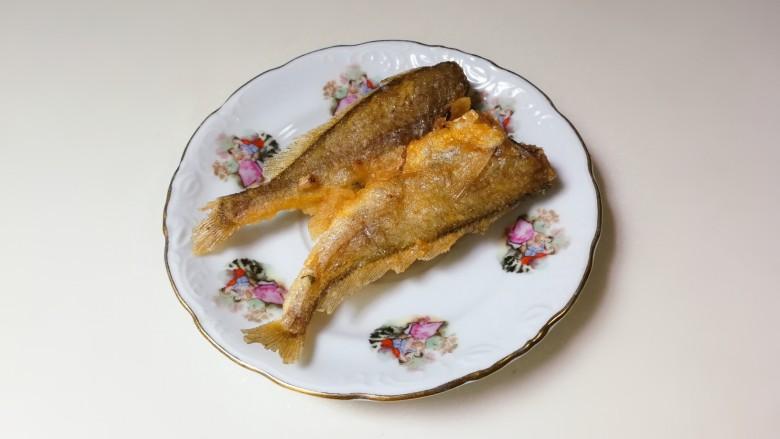 酥香小黄鱼