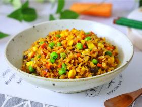 香菇时蔬糯米饭
