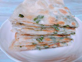 消耗饺子皮 葱油饼
