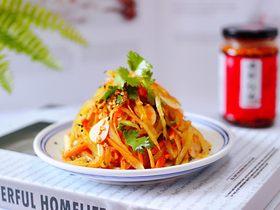 红油拌莴苣