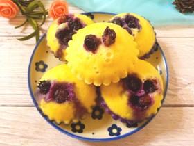蒸蓝莓鸡蛋糕