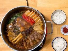 沙嗲猪肉火锅