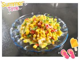 虾滑玉米粒