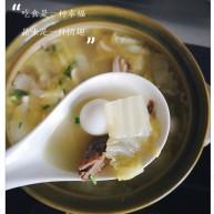 牛肉白菜菌菇汤