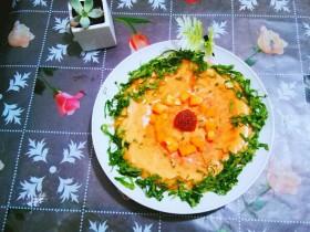 果蔬鸡蛋饼  #鸡蛋的花样年华#