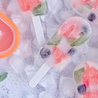 解暑降温新技能,西柚蓝莓薄荷冰棒