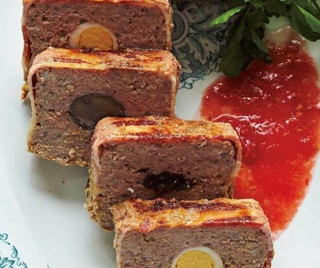 栗子美式烤肉饼