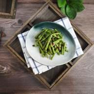 橄榄菜炒豆角