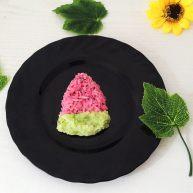 小盆友喜欢的西瓜饭团