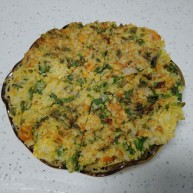 大米粗粮蔬菜饼