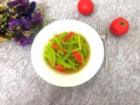 西红柿拌莴笋