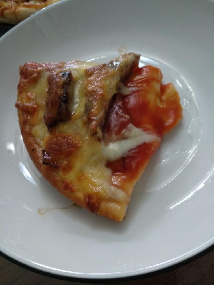 家庭版黑椒牛柳披萨