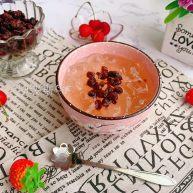 清凉爽滑蜂蜜红糖蜜豆冰粉粉