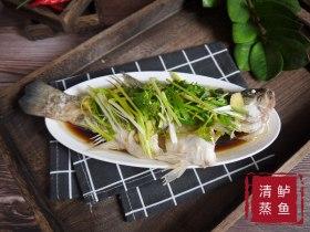 原汁原味,鲜嫩无比--清蒸鲈鱼