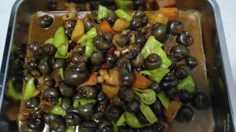 田螺炖土豆