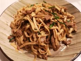 牛肉干豆腐丝