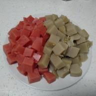 西瓜凉糕+绿豆凉糕