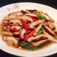 素炒鲜香菇