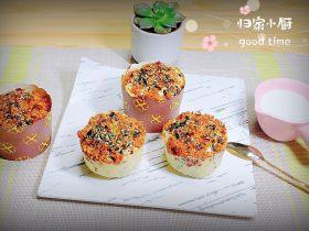 肉松海苔麦芬蛋糕