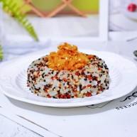 甜甜圈肉松藜麦饭
