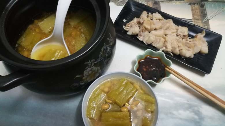 苦瓜黄豆煲五花肉