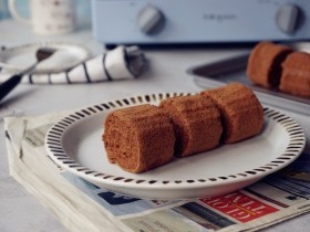 可可味小蛋糕卷