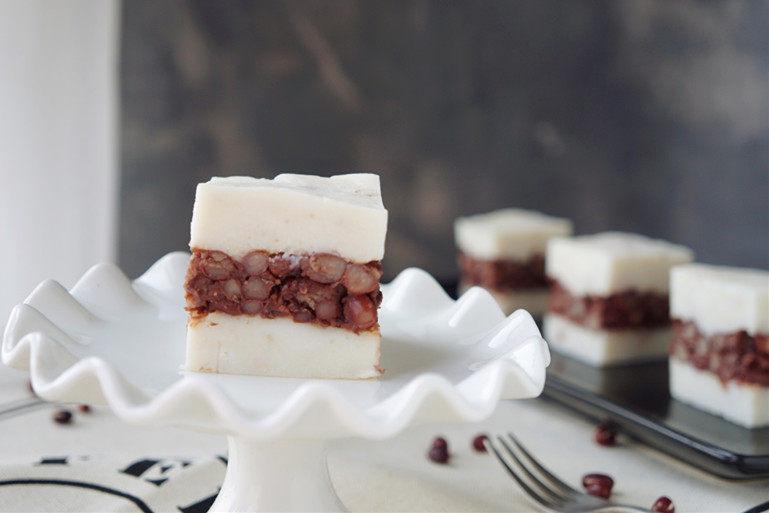 山药红豆糕