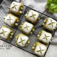 抹茶蜜豆牛奶卷