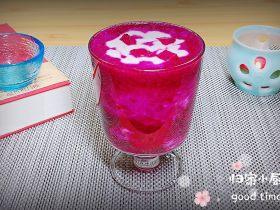 梦幻火龙果酸奶杯