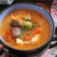 番茄蘑菇瘦肉汤