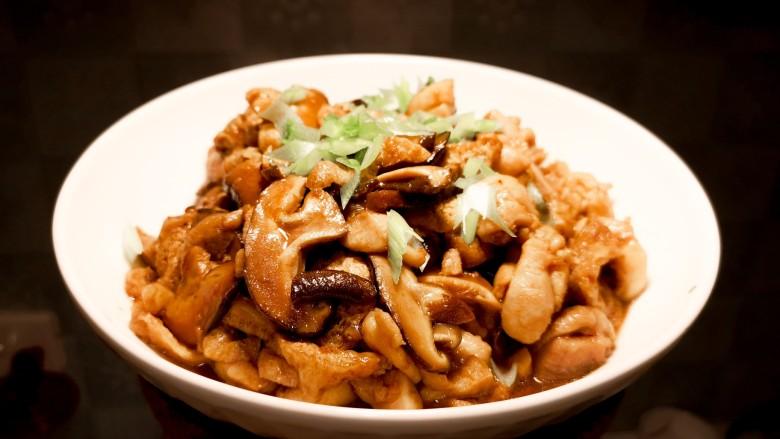 红烧鸡肉香菇