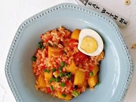 番茄土豆烩饭
