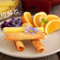 清新【冰糖橙酥卷】酥脆爽口