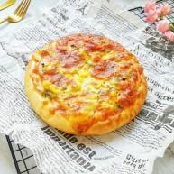 火腿彩蔬披萨