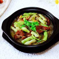 芸豆肉片炖粉条