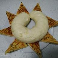 葱油长龙和葱油千层饼